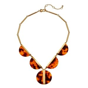 NWT Kate Spade Tortoise on the Dot Statement Neckl